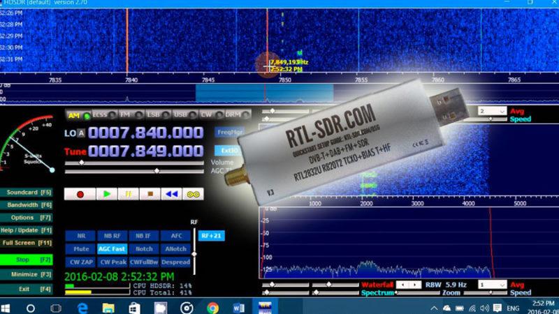 Mon expérience avec une RTL-SDR