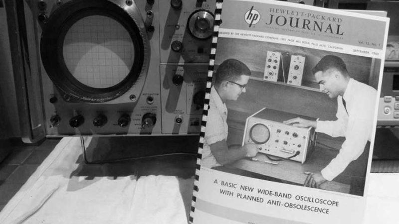 Un oscilloscope « vintage », un appareil de légende. Mais pour quoi faire ?