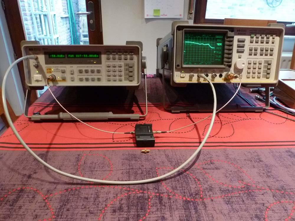 Analyseur de spectre et mesures scalaires52  min de lecture