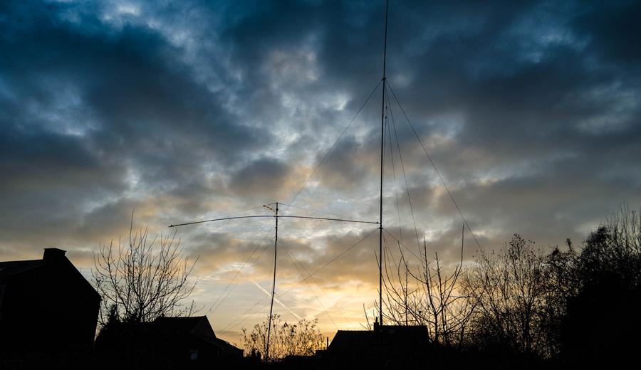 Antenne verticale pour le 80 et le 40 mètres