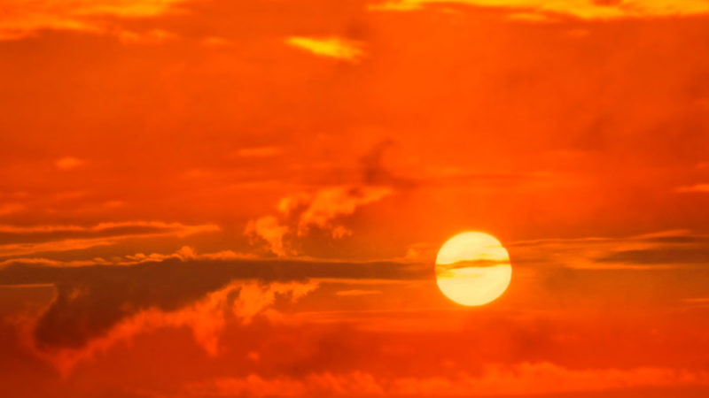 Le soleil nous joue des tours !