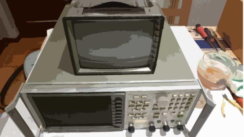 Cure  de  jouvence  pour  appareils  de  mesure  avec  écran  à  tube cathodique