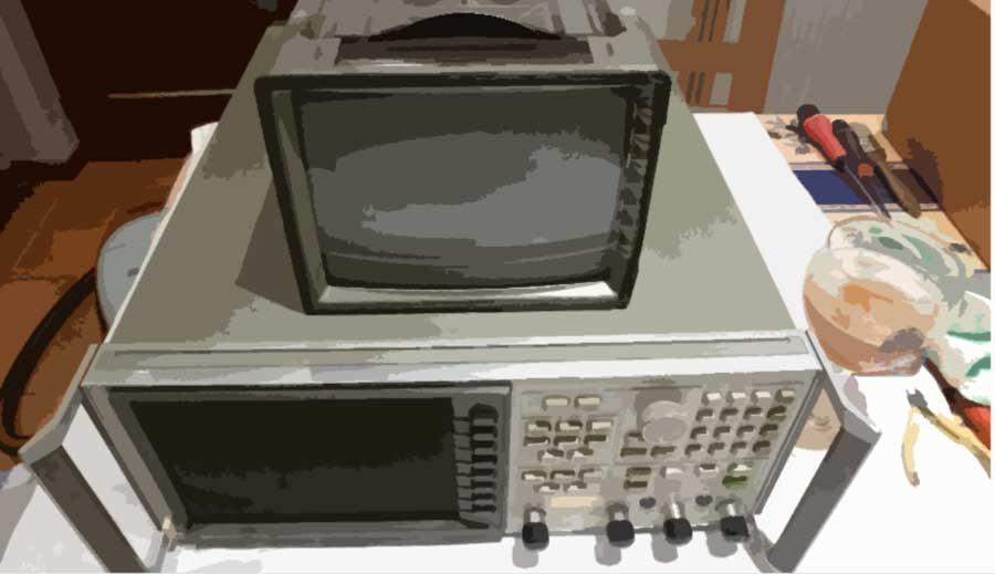 Cure  de  jouvence  pour  appareils  de  mesure  avec  écran  à  tube cathodique20  min de lecture