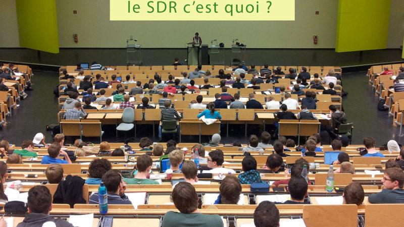 Le SDR en question