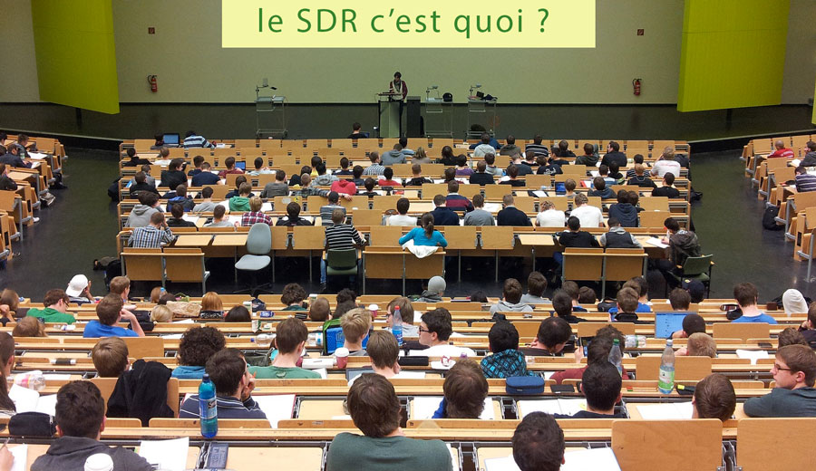 Le SDR en question