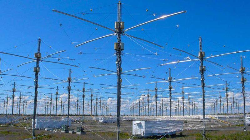 Projet HAARP recherche dans l'Ionosphère