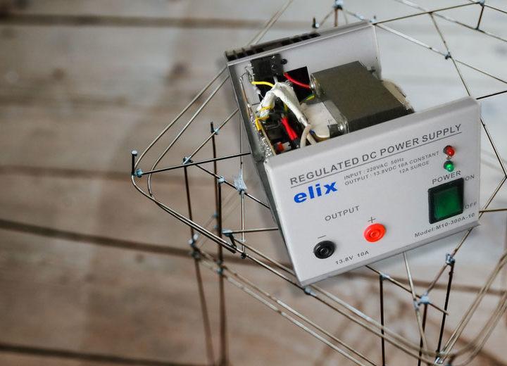 Partages et contributions techniques des OM's lecteurs de ON5VL.org ; alimentation Elix et oscilloscope Tek 2465 de F1HFO