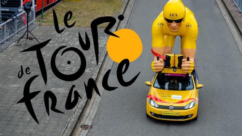Les Fréquences du Tour de France