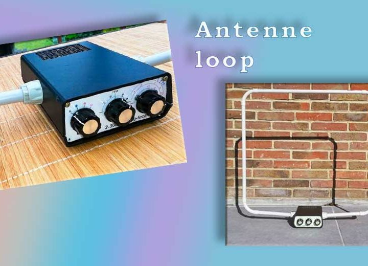Antenne loop de table 160-10m