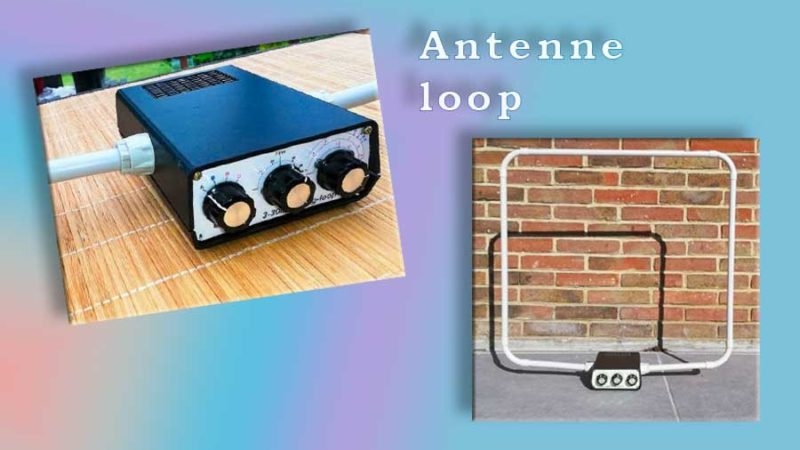 Antenne loop de table 160-10m
