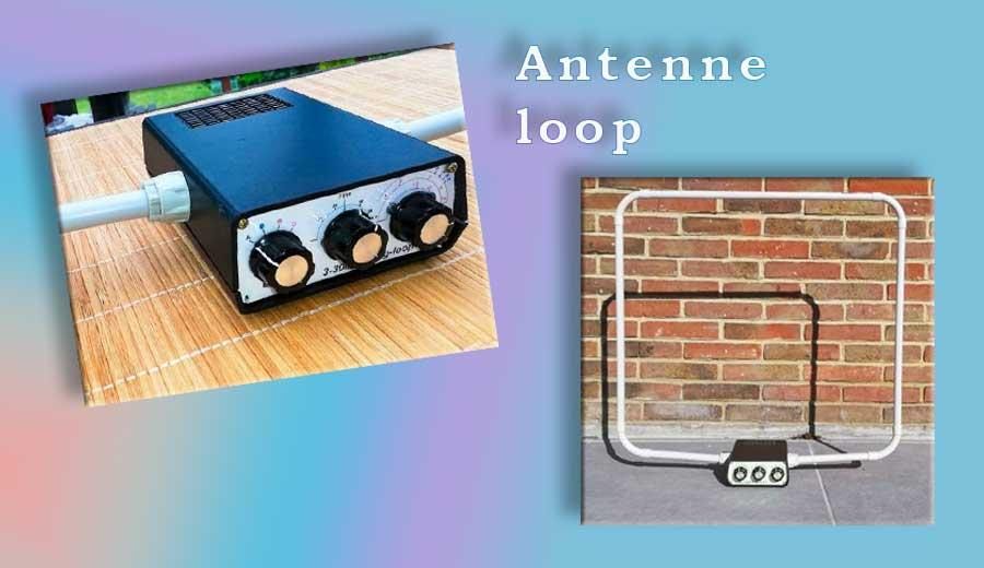Antenne loop de table 160-10m7  min de lecture