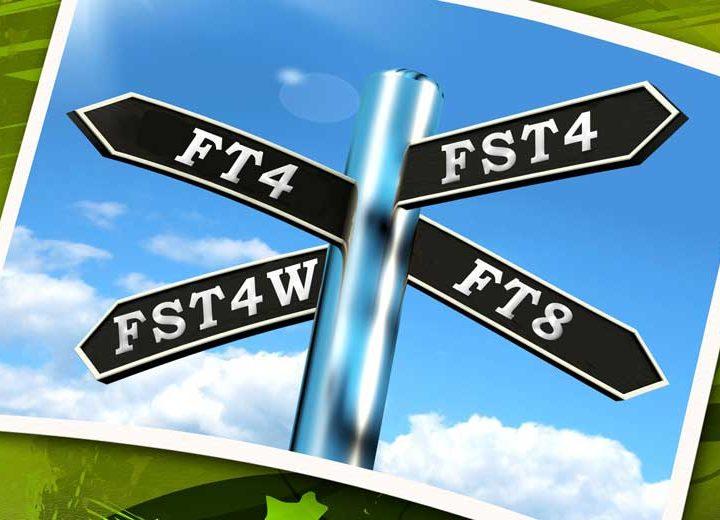 FST4/FST4W nouveaux modes pour les bandes LS et MF