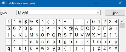Écrire des caractères complémentaires au clavier2  min de lecture