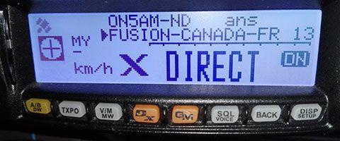 Mise à jour du FTM100DE, FT2DE, FTM400DE