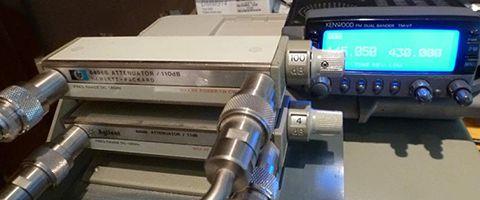 Proposition d'un protocole de mesure sur la réjection du canal adjacent de la partie réceptrice d'un répéteur VHF en FM analogique