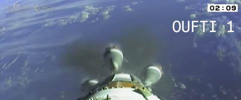 Oufti-1 a rejoint l'espace