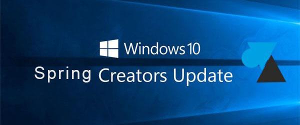 Différer la mise à jour Windows update 1803