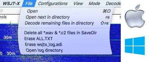Explications des fichiers de WSJT-X